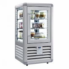bromic ctf0100g4s 98l flat glass countertop freezer