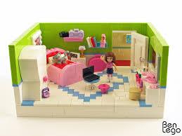 Lego Bedroom Olivias Bedroom By Benlego On Flickr I Really Like The Bedroom