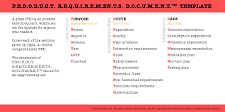 requirements document template product requirements document prd template talvinder