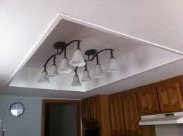 Ceiling Kitchen Lights 1000 Ideas About Fluorescent Light Fixtures On Pinterest