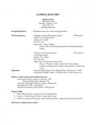 child care sample resume template child care sample resume