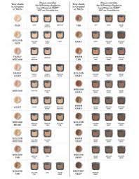 Bare Minerals Original Foundation Color Chart Jane Iredale Color Chart