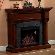 corner electric fireplace mantels