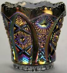Carnival Glass Patterns Best Imperial Carnival Glass Toothpick Holder Collectors Weekly