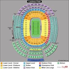 Unique Lambeau Field Seating Chart Section 115 Sf Niners