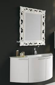 Curved Bathroom Vanity Cabinet New Curved Pvc Bathroom Vanity Cabinet Sets Design Buy Fancy