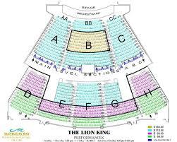 Mandalay Bay Theater Seating Chart 47 Detailed Mandalay Bay Theatre Virtual Seating Chart