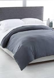 calvin klein modern cotton twin duvet cover charcoal uni bed bath bedding accessories