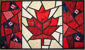 Louisa Quilts: June 2014 & Canada Day quilt Adamdwight.com