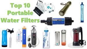 portable water filter. Brilliant Portable Top 10 Most Advanced Portable Water Filters U0026 Purifiers For Backpacking  Survival In Filter A