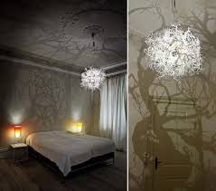 these simple chandeliers turn your room into a forest