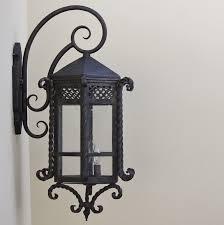 spanish style custom iron outdoor lighting fixture lightbox moreview