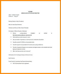 Sample Agenda Template Powerpoint Board Meeting Skincense Co