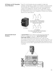 basics of circuit breakers siemens cources two independent 1 pole breakers requires 1 space 43