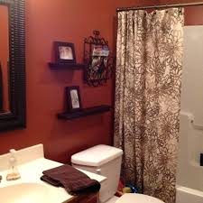 curtains with orange walls what color go best burnt bathrooms ideas