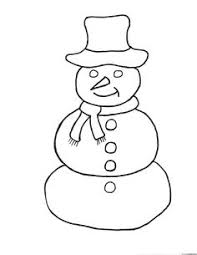 Small Picture simple snowman coloring pages Coloring Pages applique