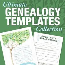 Genealogy Form Templates Free Family History Website Template 81 Best Free Genealogy Forms