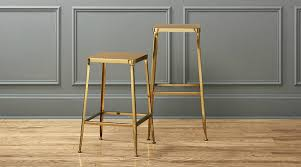 gold counter stools. View In Gallery Flint Gold Bar Stools Counter