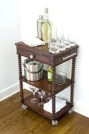 antique bar cart. Liquor Cart Antique Bar Mini Hack How To Make In A