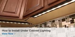 under cabinet plug in lighting. How To Install Under Cabinet Lighting View Now Plug In C