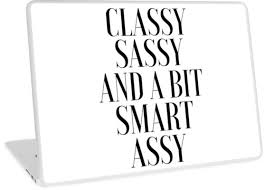 Quote Posters Inspiration Classy Sassy And A Bit Smart Assyfunny Posterquote Printsgirls