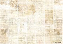 Newsprint Texture Background Photo Art Print Newspaper With Old Grunge Vintage