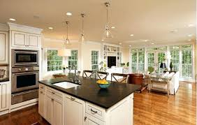 Kitchen Dining And Living Room Design  Home Design IdeasOpen Concept Living Room Dining Room And Kitchen