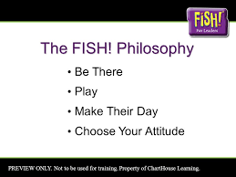 Chart House Fish Philosophy Preview Only Not To Be Used For Training Property Of