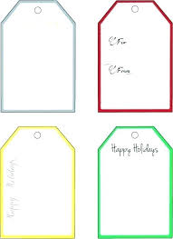 Christmas Gift Labels Templates Word Printable Gift Tags Templates Name Template Luxury Free And