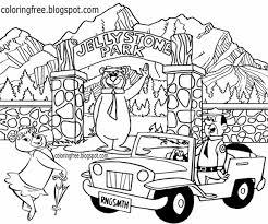 Coloring page yogi bear yogi bear. Free Coloring Pages Printable Pictures To Color Kids Drawing Ideas Yogi Bear Coloring Pages Us Campground Kids Cartoon Characters