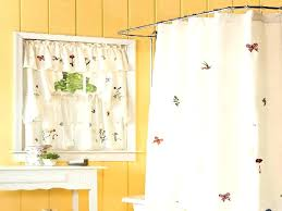 swag shower curtains window curtain and set fabric inside with matching treatment decorating elegant