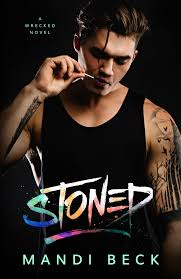 Blog Tour Reviews Giveaway Stoned by Mandi Beck Up All.