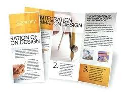 Free Brochure Layouts Informational Brochure Template