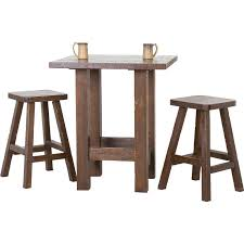 indoor cafe table and chairs swigart piece pub table set