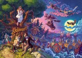 РУССКИЕ НАРОДНЫЕ СКАЗКИ И НАЦИОНАЛЬНЫЙ ХАРАКТЕР Сказки дети пушкин