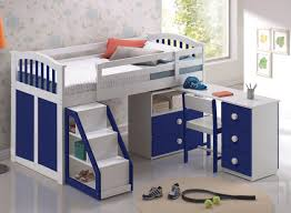 Bed With Study Table Design - [peenmedia.com]