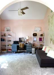 office in the home. A Blush Home Office Makeover In Sherwin Williams Romance The I