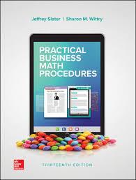 business math practical business math procedures