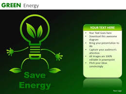 Save Energy Powerpoint Templates Green Energy Ppt Slides