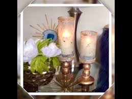 dollar tree marble rose gold diy candle holders glam home decor elegance for less 2018