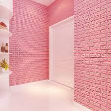 PE Foam 3D Wallpaper Diy Wall Stickers ...