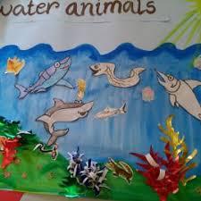 Water Aquatic Animals Sai Angan Play School
