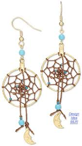 The Story Of Dream Catchers Jewelry Making Article The Dream Catcher Fire Mountain Gems 63