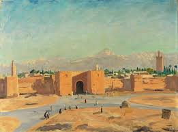 another churchill painting of morocco