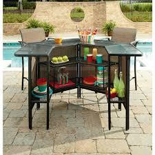 harrison 5 piece set outdoor bar garden oasis weather rust resistant for