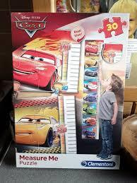 Disney Cars Puzzle Growth Chart Brand New Sealed Ebay