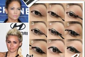 as you learn the below steps on how you can apply cat eyes eyeliner it is important to note that good use of eye makeup can make you look dramatic and