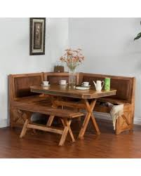 breakfast nook set pertaining to amazing deal sunny designs sedona 4 piece with prepare 1