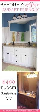 Diy Bathroom Reno Before And After Kids Nautical Bathroom 400 Renovation All
