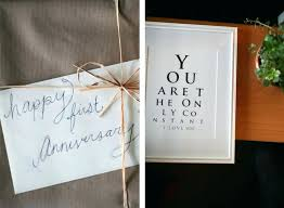 creative wedding anniversary gifts for him first gift ideas husband stupendous year 2 diy unique o